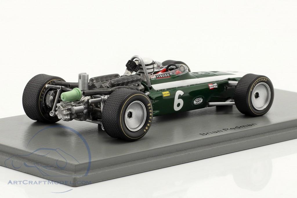 Brian Redman Cooper T86B #6 5th Race of Champions Brands Hatch 1968