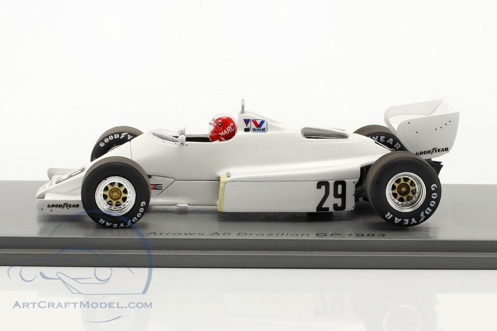 Marc Surer Arrows A6 #29 6th Brazilian GP formula 1 1983