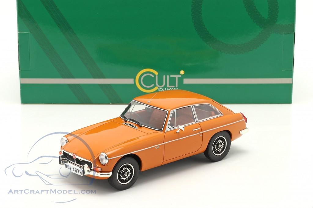 MGB GT V8 year 1974 orange  Cult Scale