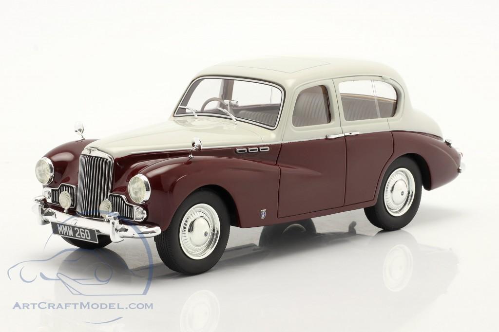 Sunbeam Talbot 90 MK III year 1954 grey / maroon  Cult Scale