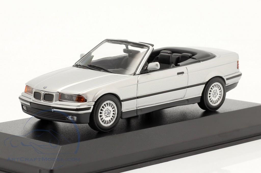 BMW 3 Series (E36) Convertible year 1993 silver