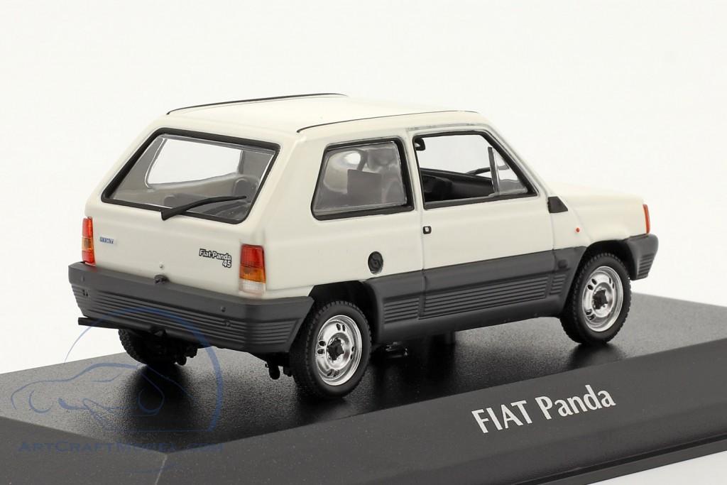 Fiat Panda year 1980 cream white / grey