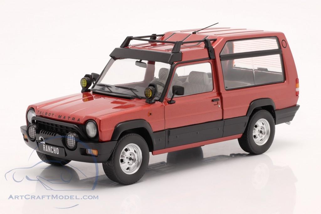 Talbot Matra Rancho X year 1977-83 red metallic