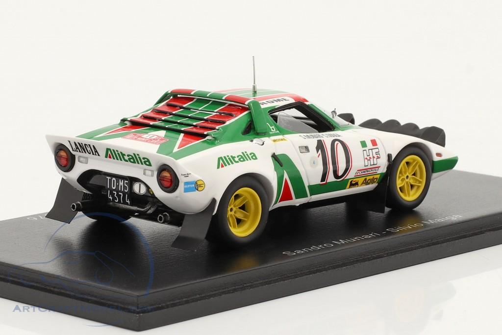 Lancia Stratos HF #10 winner Rallye Monte Carlo 1976 Munari, Maiga