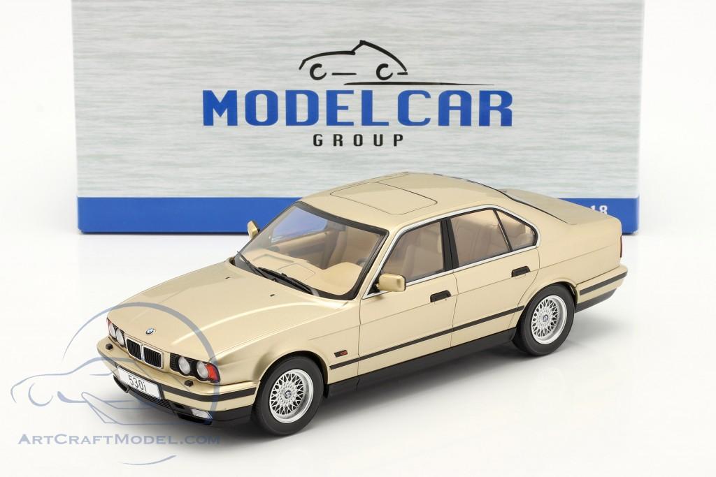 BMW 5 Series (E34) year 1992 champagne metallic  Model Car Group
