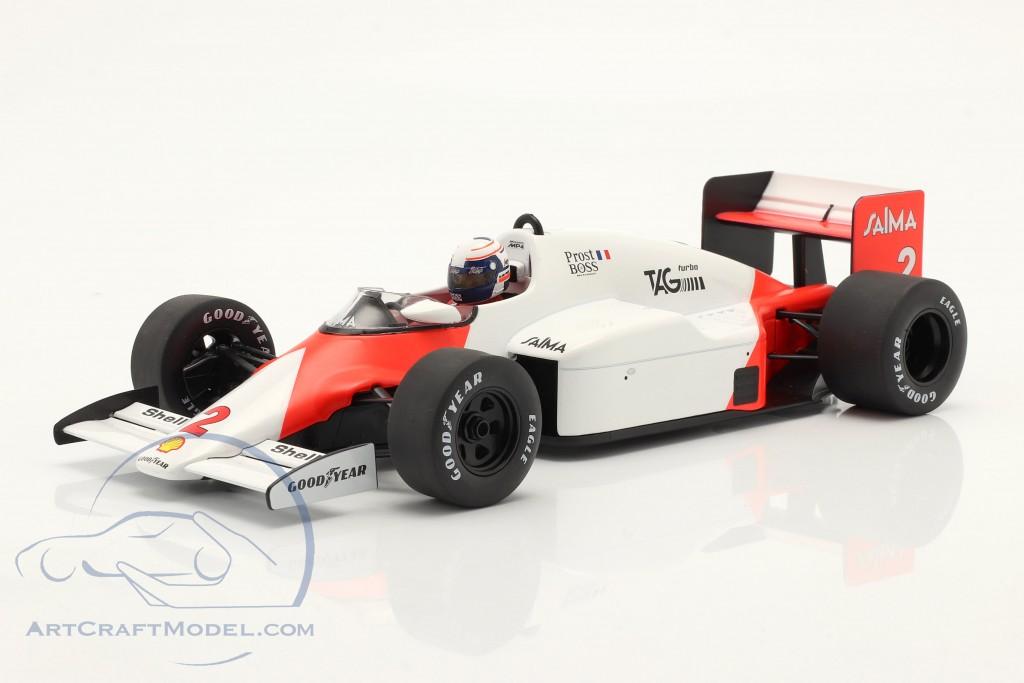 A. Prost McLaren MP4/2B #2 Winner Monaco formula 1 World Champion 1985  Model Car Group