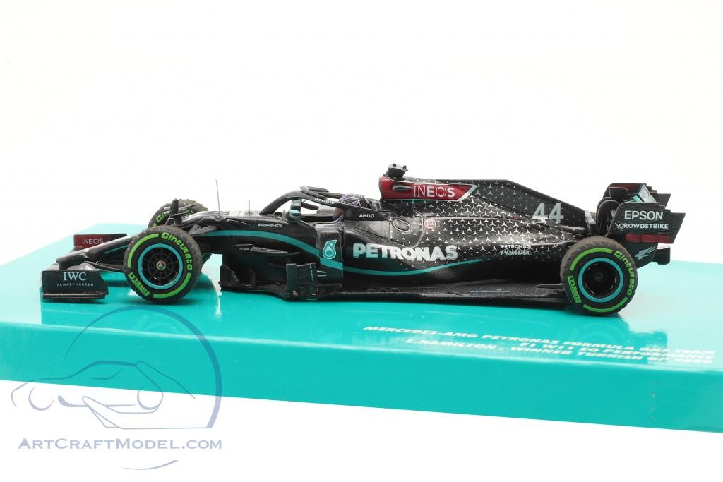 L. Hamilton Mercedes-AMG F1 W11 #44 winner Turkish GP formula 1 World Champion 2020