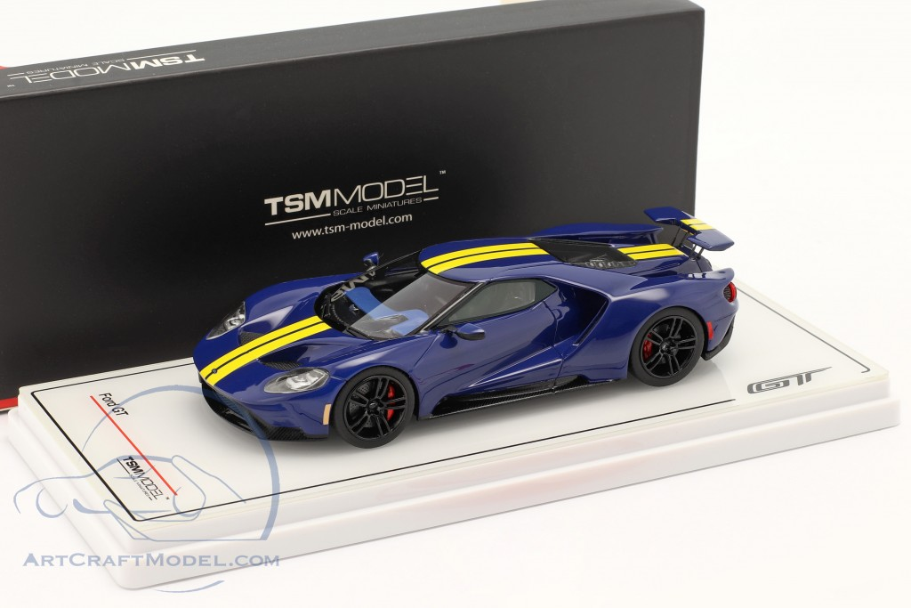 Ford GT Sunoco blue / yellow