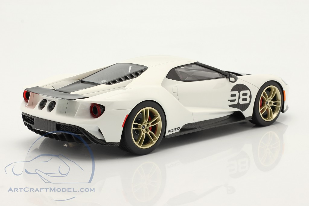 Ford GT #98 Heritage Edition 2021 white / red / carbon