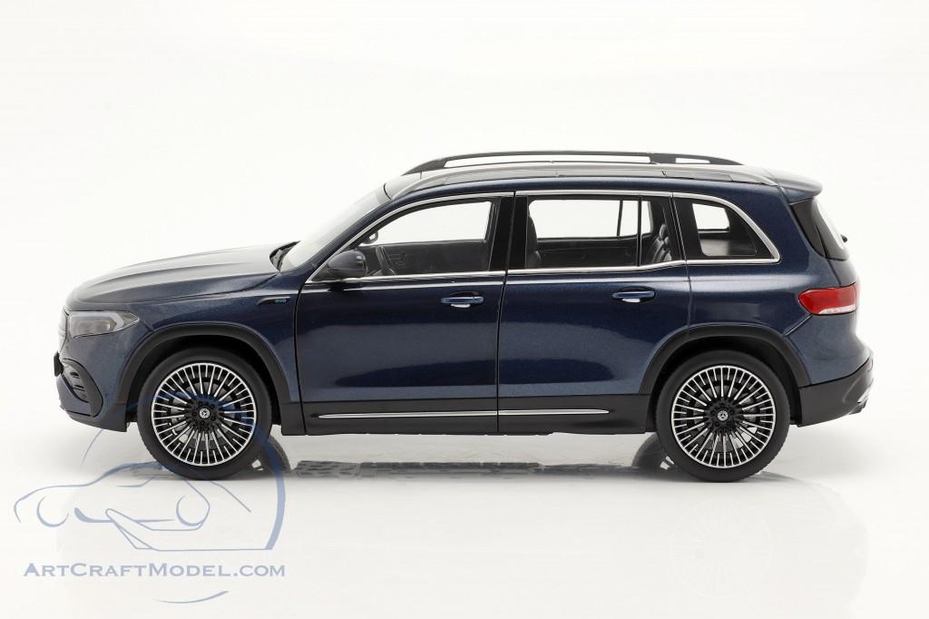 Mercedes-Benz EQB year 2021 denim blue