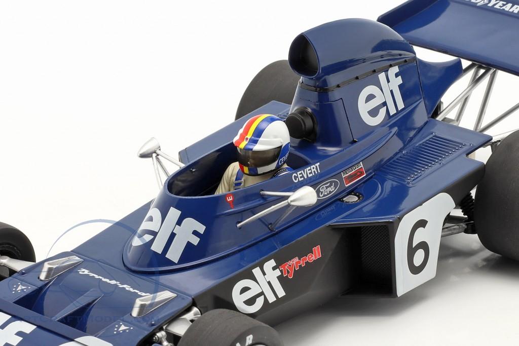 Francois Cevert Tyrrell 006 #6 2nd Belgian GP formula 1 1973  Model Car Group