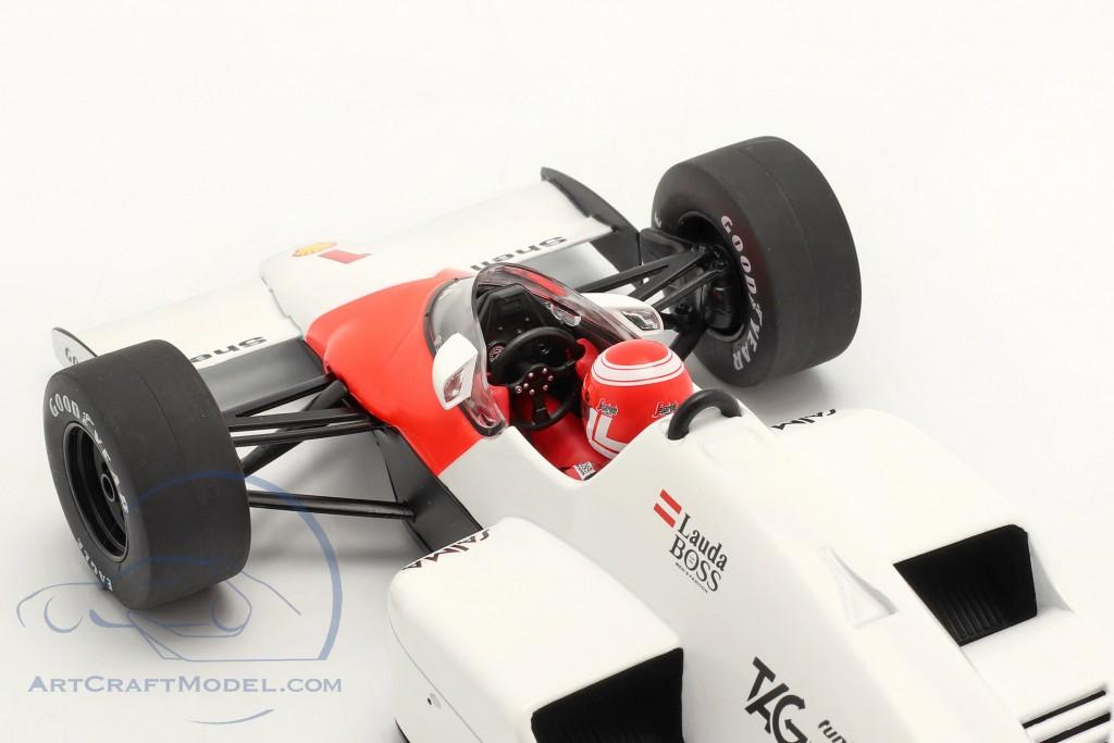 Niki Lauda McLaren MP4/2B #1 Winner Dutch GP formula 1 1985  Model Car Group