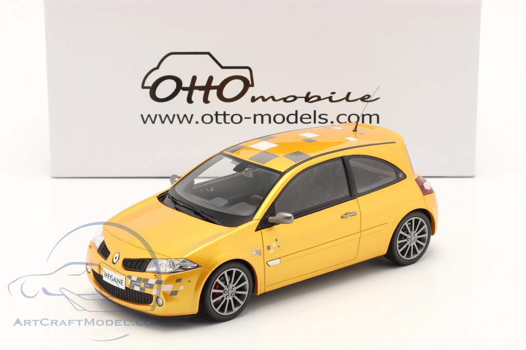 Renault Megane RS F1 Team Edition year 2002 yellow  OttOmobile