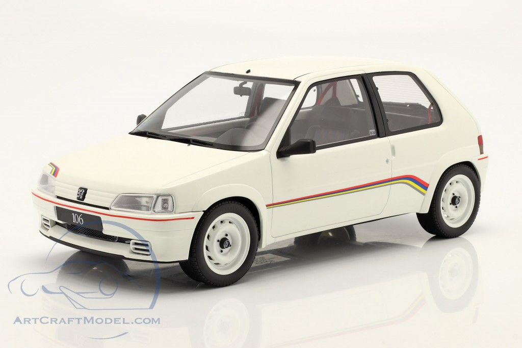 Peugeot 106 Rally year 1993 white  OttOmobile