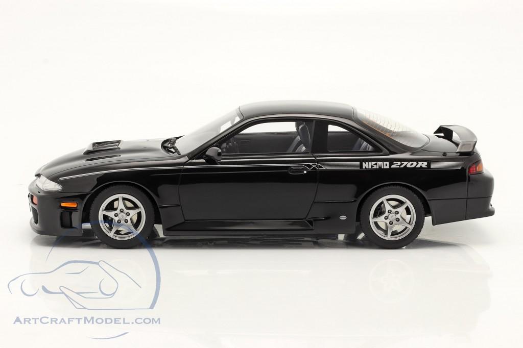 Nissan Silvia 270R (S14) Coupe year 1994 black  OttOmobile