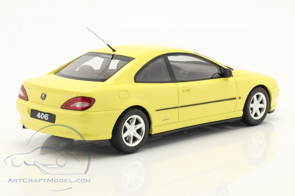 Peugeot 406 V6 Coupe Phase 1 year 1997 yellow  OttOmobile