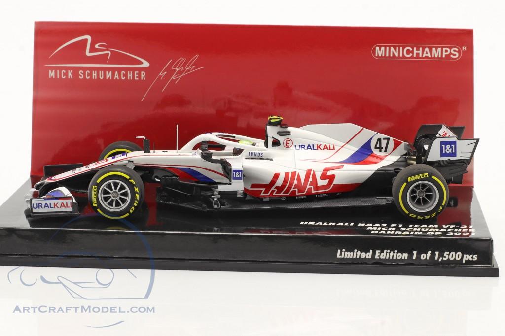 Mick Schumacher Haas VF-21 #47 Bahrain GP formula 1 2021