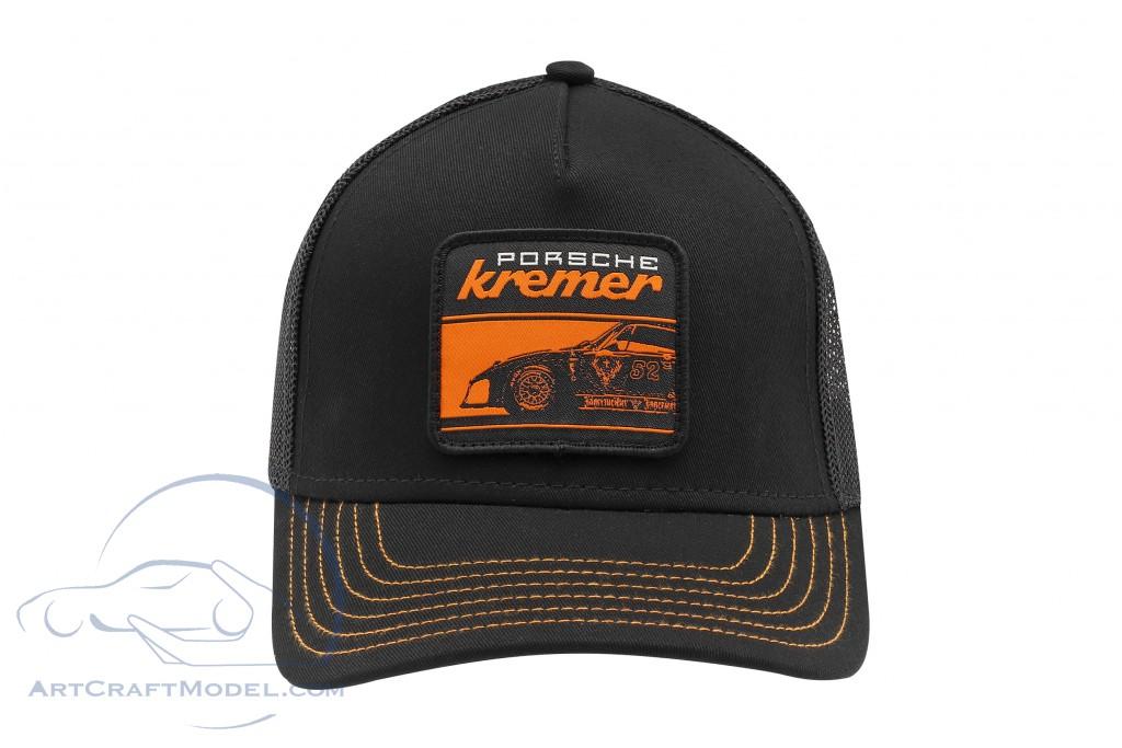 Kremer Racing Cap Jäger Porsche 935 K3 black / orange