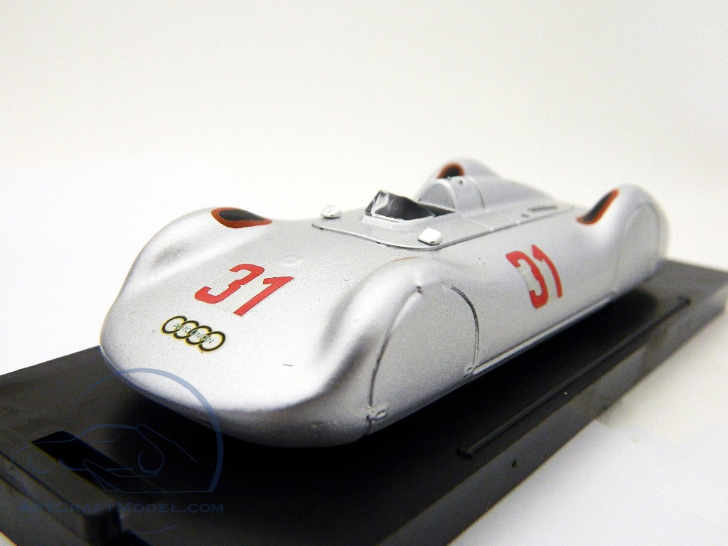 B. Rosemeyer Auton Union Type C Streamline #31 Avusrennen 1937