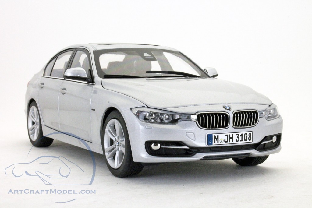 bmw 3 series f30 2012 glacier silver 80432212867 ean. Black Bedroom Furniture Sets. Home Design Ideas
