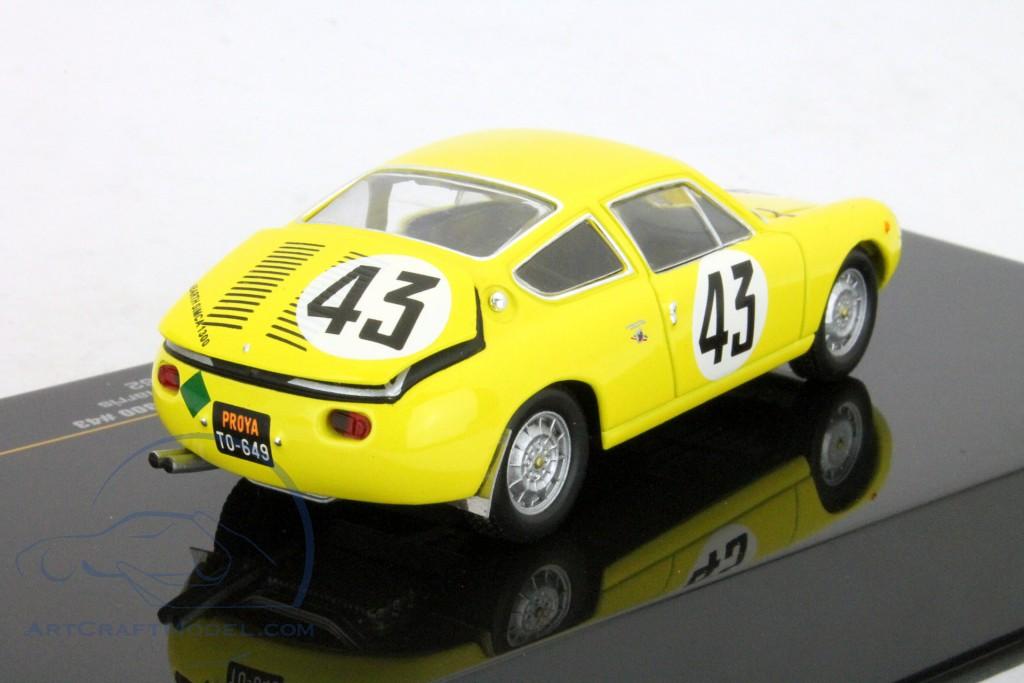 Abarth Simca 1300 #43 Le Mans 24h 1963 C.Dubois / G.Harris 1:43