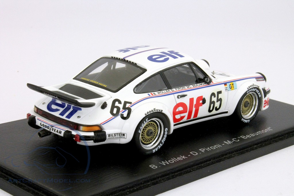 SPARK Porsche 934 No.65 Le Mans 1976 Bob Wollek Didier Pironi S3402 1//43