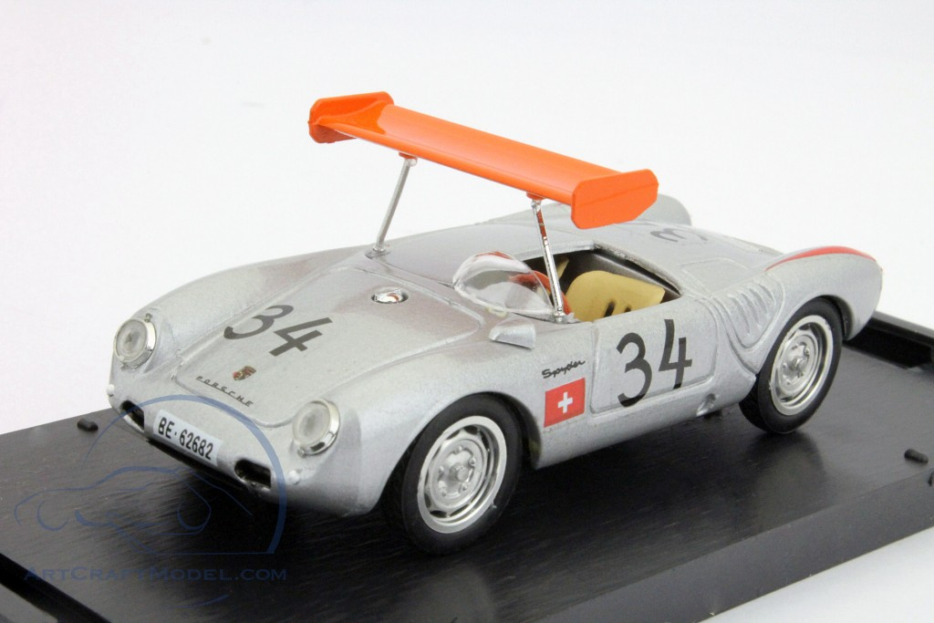Porsche 550A RS #34 1000Km Nürburgring 1956 M. May