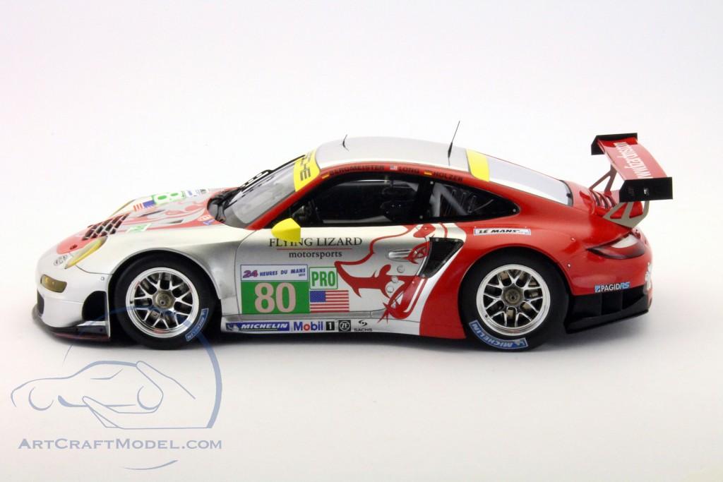 Porsche 911 (997) RSR #80 24h LeMans 2012 Bergmeister, Long, Holzer