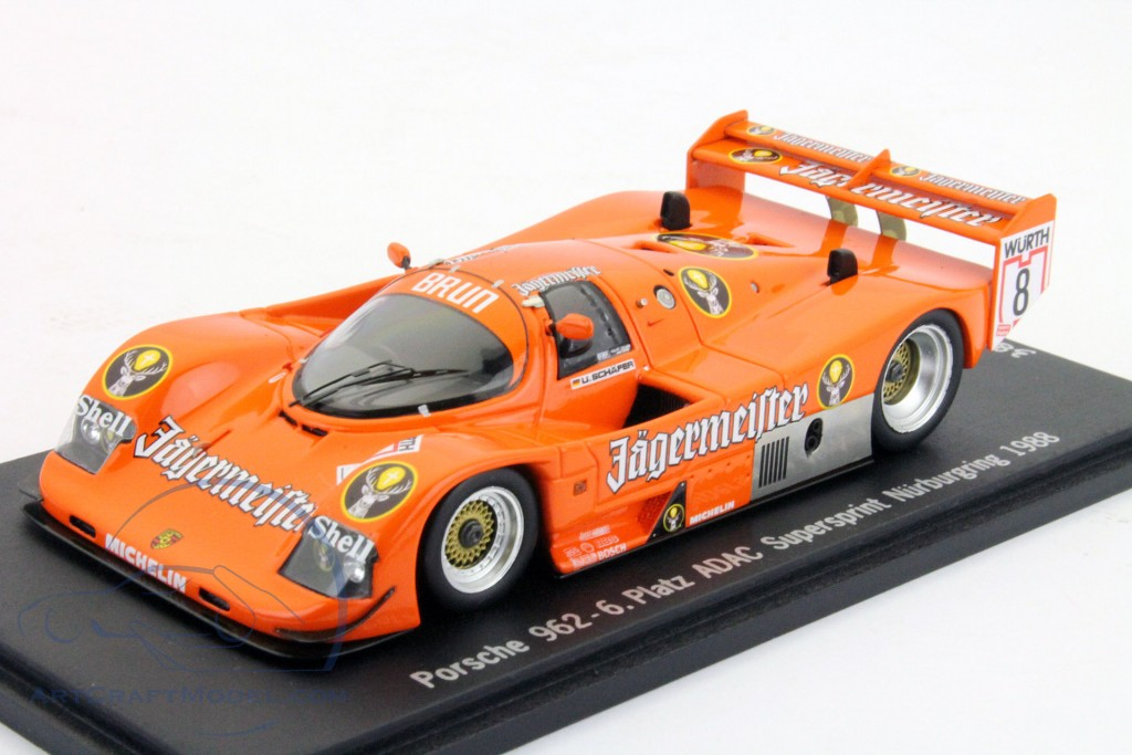 Porsche 962 #8 6 ADAC Supersprint Nürburgring 1988   Shepherd