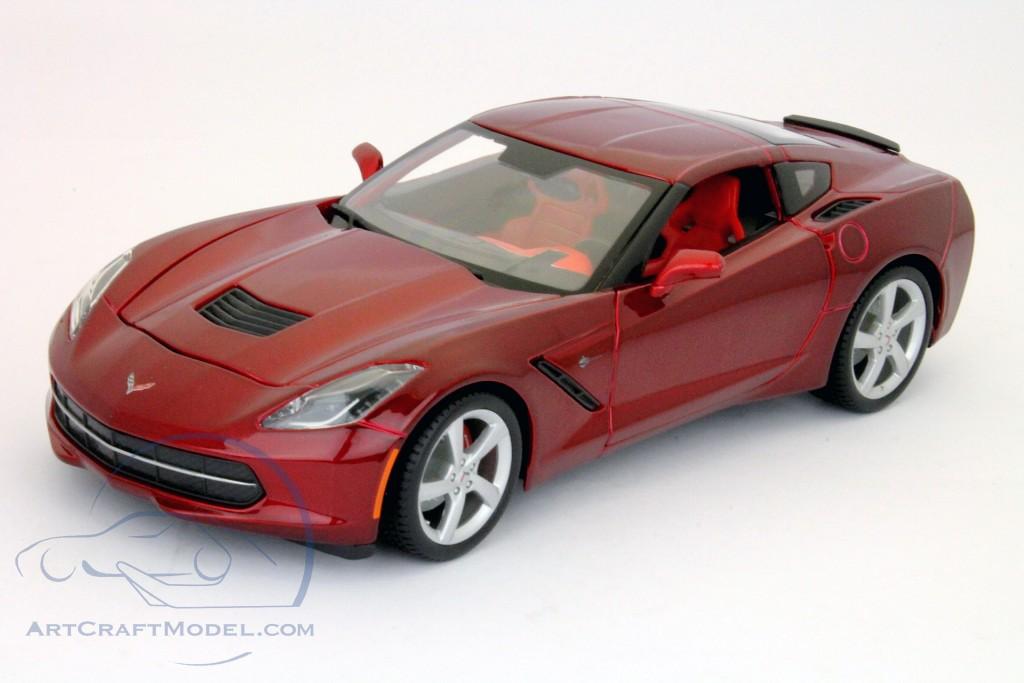 Chevrolet Corvette C7 Stingray Year 2014 Red 31182 Ean 090159311829