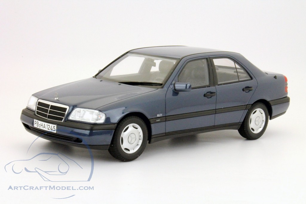Mercedes benz c class c220 w202 blue bos models bos014 for Mercedes benz c class models