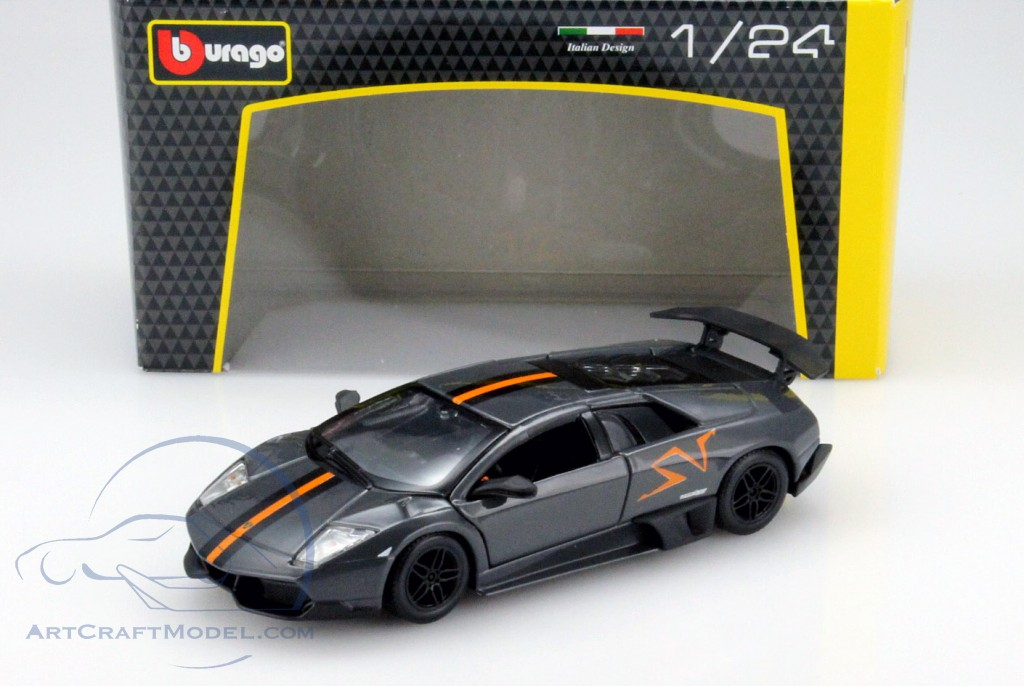 Lamborghini Murcielago Lp670 4 Sv Gray Orange 18 22120 Ean